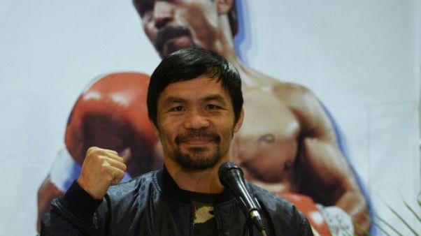Boxe: Pacquiao demande aux réseaux sociaux de lui trouver un adversaire