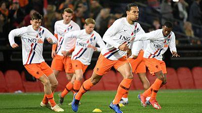 Dutch not favourites against struggling Germany - Van Dijk