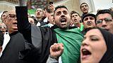 Contestation en Algérie: plusieurs centaines d'avocats manifestent à Alger
