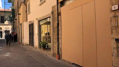 A Prato negozi chiusi in vie corteo Fn