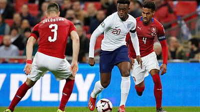 England's Hudson-Odoi shocked to make senior debut