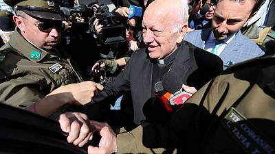 Pope accepts resignation of Chilean cardinal accused of abuse cover up