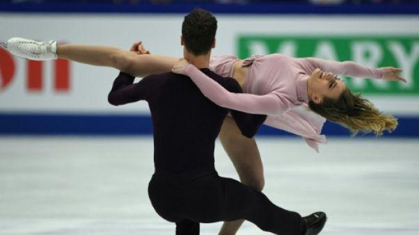 """Mondiaux de patinage: Papadakis et Cizeron """"Tout ce chemin en juste cinq ans"""""""