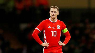 Ramsey unfit for Wales' Euro qualifier against Slovakia