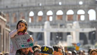 Partita a Roma Marcia per il clima