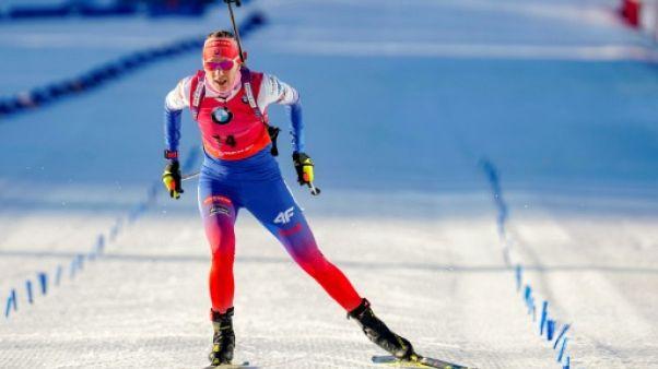 Biathlon: Kuzmina survole la poursuite
