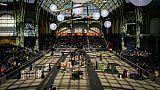 """Vue générale du """"Saut Hermès"""" au Grand Palais à Paris le 22 mars 2019"""