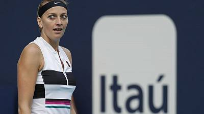 Kvitova prevails in marathon three-setter in Miami