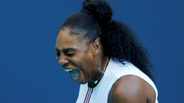 L'Américaine Serena Williams lors du tournoi de Miami le 22 mars 2019