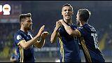 Euro 2020, Grecia vince 2-0, Bosnia 2-1