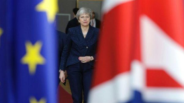 La Première ministre britannique Theresa May le 21 mars 2019 à Bruxelles