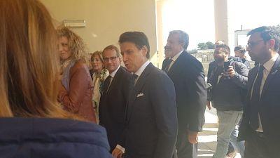 Conte a Lecce,con olivicoltori e Cnr-Eni
