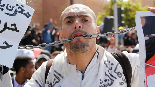 Thousands of Moroccan teachers stage protest over pay terms