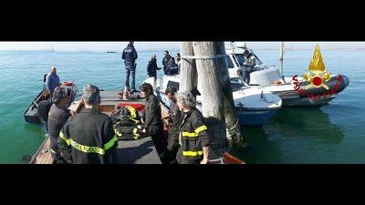 Cadavere in laguna di Venezia