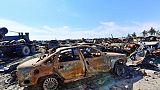 """Syrie: des jihadistes cachés dans des tunnels se rendent après la fin du """"califat"""""""
