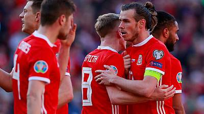 James scorcher gives Wales 1-0 win over Slovakia