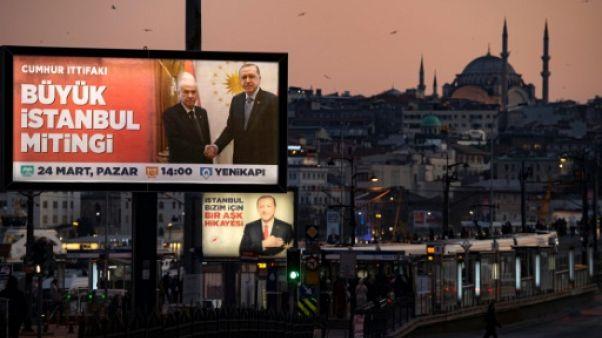 Municipales: âpre bataille pour Istanbul, coeur battant de la Turquie
