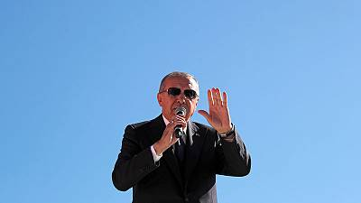 Erdogan says Turkey will not go back on purchase of Russian S-400s