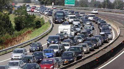 Traffico, autostrade liguri in tilt