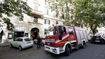 Rifiuti: fiamme in impianto a Roma
