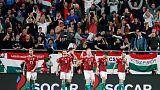 المجر تنتفض وتصعق كرواتيا 2-1