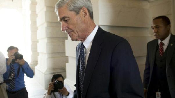 Le procureur spécial Robert Mueller, le 21 juin 2917 à Washington