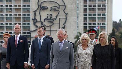 Princes Charles becomes first British royal to visit Cuba