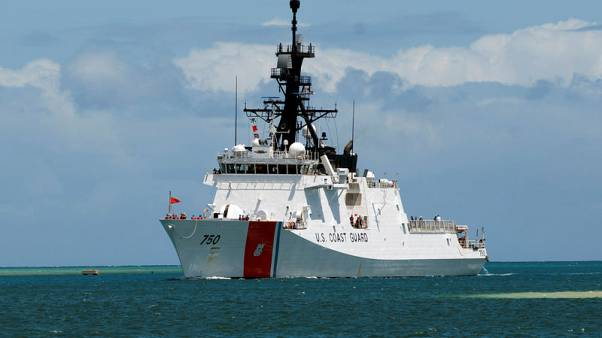 U.S. Navy, Coast Guard ships pass through strategic Taiwan Strait