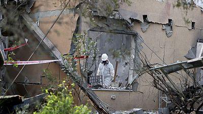 Israel says six wounded near Tel Aviv in long-range Gaza rocket attack
