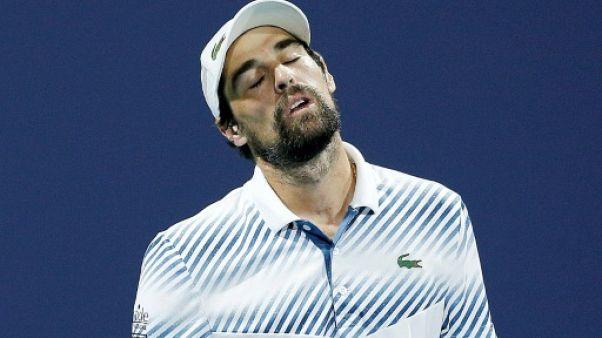Tennis: Chardy stoppé par Coric à Miami