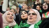 Les Algériennes très mobilisées, mais encore prudentes pour leurs droits
