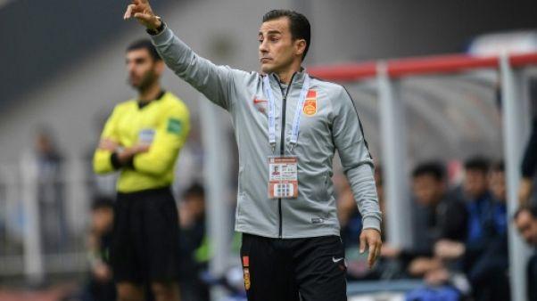 Foot: débuts ratés de Cannavaro avec la Chine
