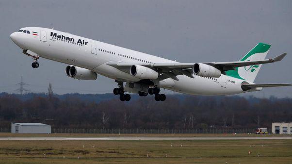 France bans Iran's Mahan Air for activities outside Europe