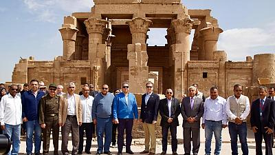 USAID Administrator Celebrates Kom Ombo Temple Project