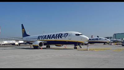 "Malata ""lasciata a terra da Ryanair"""