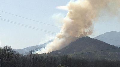 Incendio a Belmonte, santuario a rischio