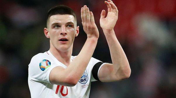 Football - Rice and Hudson-Odoi make first England starts