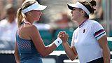 Tennis: fin de série pour Andreescu, contrainte à l'abandon à Miami