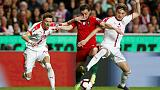 صربيا تفرض التعادل على البرتغال وإصابة رونالدو