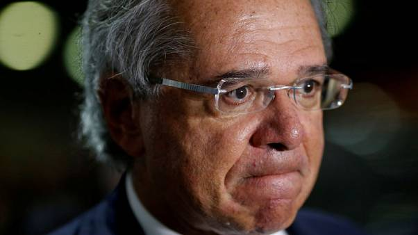 Brazil's Guedes: Don't dilute pension savings below 1 trillion reais