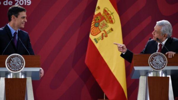 """Le Mexique demande des excuses pour les """"abus"""" coloniaux, l'Espagne refuse"""