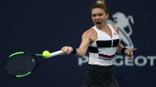 Tennis: Simona Halep trop forte pour Venus Williams à Miami