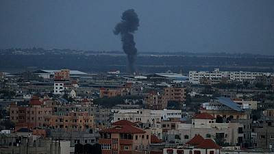 Israeli military says has begun striking Hamas in Gaza