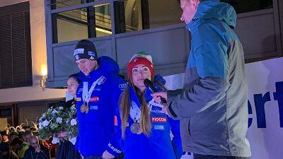 Biathlon, Anterselva festeggia Wierer
