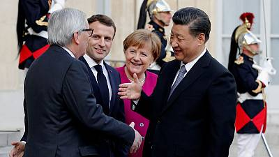 Macron calls on China and EU to strengthen multilateralism
