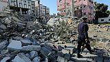 Un calme précaire revient à Gaza à l'approche d'un rendez-vous à haut risque