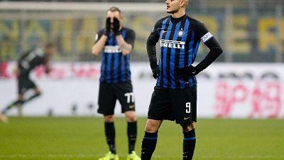 Inter: Icardi si allena con i compagni