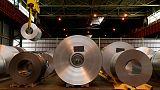 إنتاج الصلب العالمي يرتفع 4.1% على أساس سنوي في فبراير