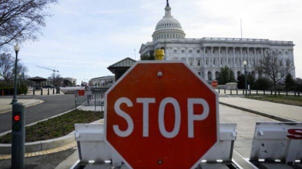Le Capitole abrite le Congrès des Etas-Unis à Washington