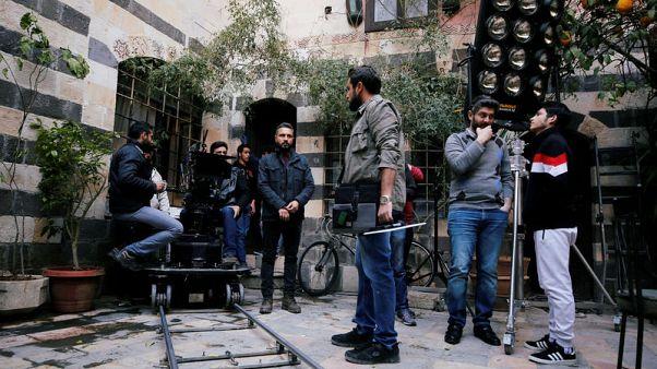 Film cameras start to roll again in Damascus studios